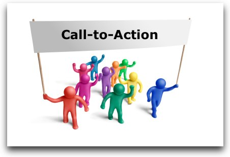 Kleuren call to action