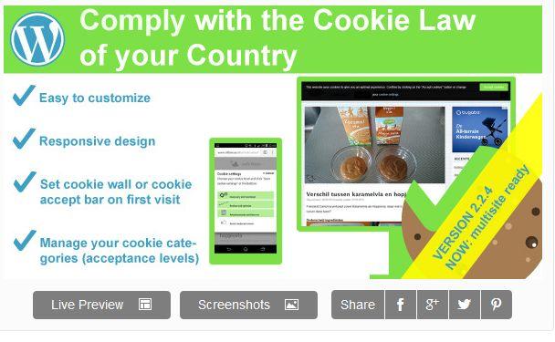 Nieuw: WeePie Cookie Allow Plugin