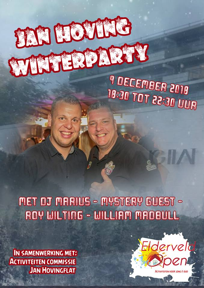 Poster Jan Hoving Winter Party
